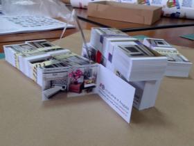 Двойные визитки